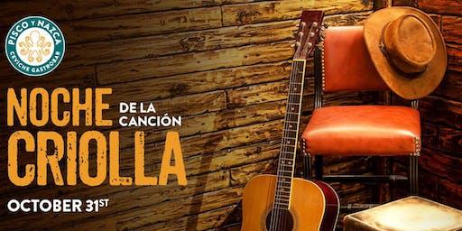 Noche de La Cancion Criolla - Doral