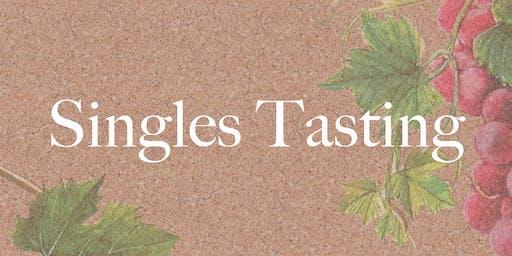 Singles Tasting