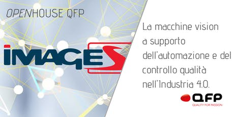 La machine vision a supporto dell'automazione e del controllo qualità nell' Industria 4.0 biglietti