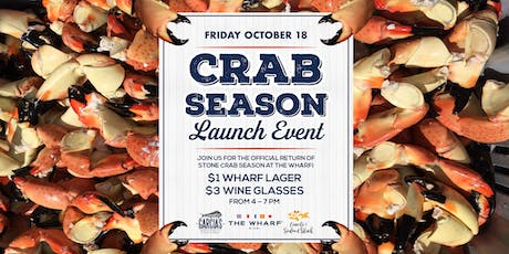 Crab Season Launch Event & Happy-Hour tickets