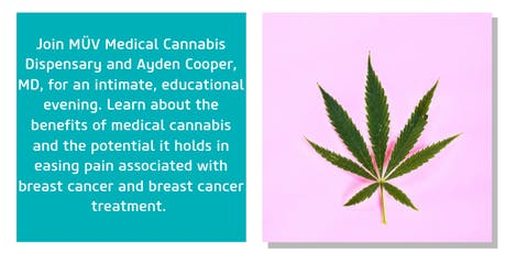 Cannabis and Breast Cancer Talk by Marijuana Care Clinic and MÜV tickets
