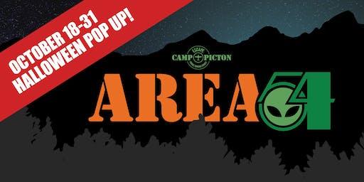 Area 54: A Halloween Escape Room