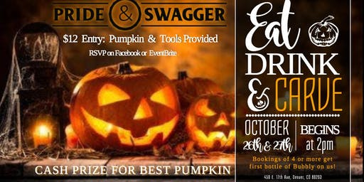 Eat, Drink, & Carve - Pumpkin Carving Contest