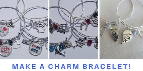 Make a Personalized Charm Bracelet tickets