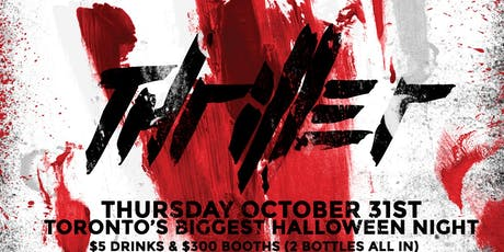 Thriller @ Fiction // Thurs Oct 31st | Biggest 18+ Halloween Party in The City! tickets