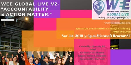 Women's Economic Empowerment Global Live :Accountability and Action Matter! tickets