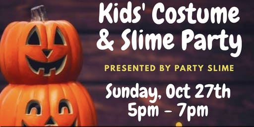 Halloween Costume & Slime Party