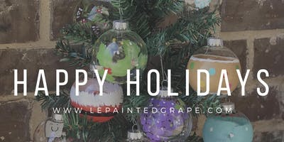 New Class! Join us for our Holiday Market! Glass Painting Party Workshop at Button Memorial United Methodist Church on 11/9 from 9 am - 3 pm