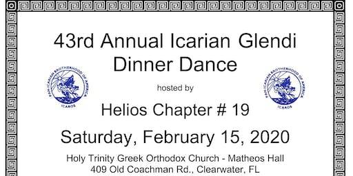 43rd Annual Icarian Glendi Dinner Dance
