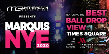Marquis New Year's Eve in Times Square tickets