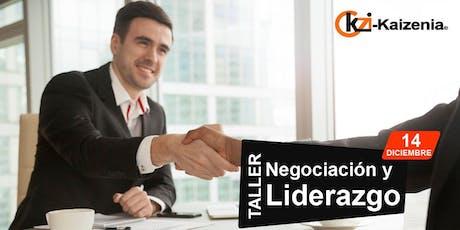 Taller de Negociación y Liderazgo entradas