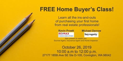 Learn how to buy your own home!