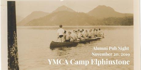 YMCA Camp Elphinstone Alumni Pub Night tickets