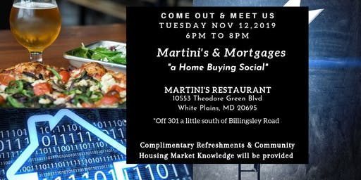 Martinis & Mortgages- a Home Buying Social