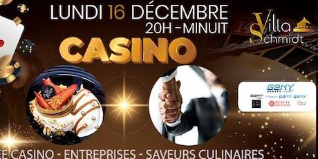 Soirée  Rencontres Entreprises - Casino - Saveurs Culinaires billets