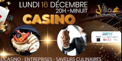 Soirée  Rencontres Entreprises - Casino - Saveurs Culinaires