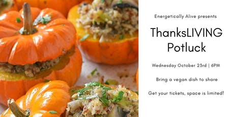 THANKSLIVING Potluck tickets