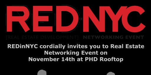 REDInNYC Real Estate Networking Event