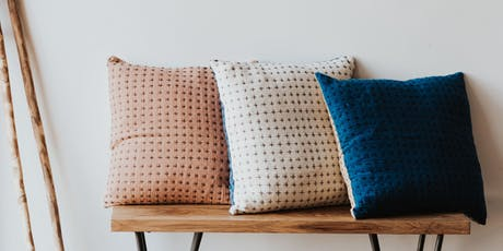 Pillow party! Happy French Gang is launching a new pillow line. tickets