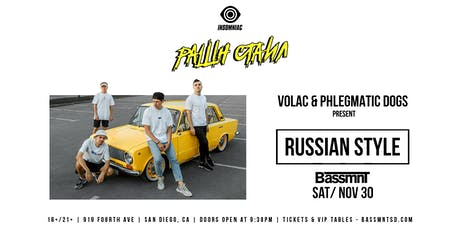 Volac  and Phlegmatic Dogs at Bassmnt Saturday 11/30 tickets