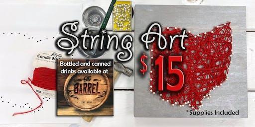String art workshop (18+ only)