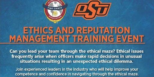 Ethics and Reputation Management Training Event