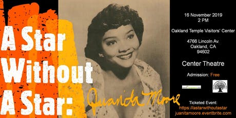 A Star Without A Star: Juanita Moore tickets