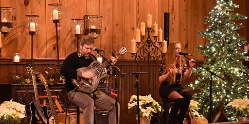 """""""Mistletoe and Melodies"""" with Guy Forsyth & Jeska Bailey at Old Glory Ranch"""