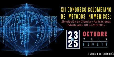 XII Congreso Colombiano de Métodos Numéricos entradas