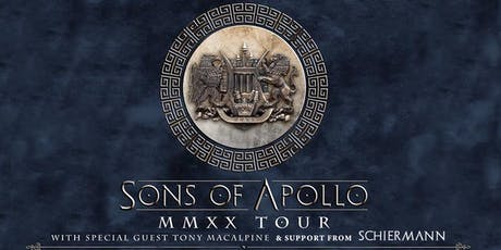 Sons of Apollo with Tony MacAlpine and SCHIERMANN tickets