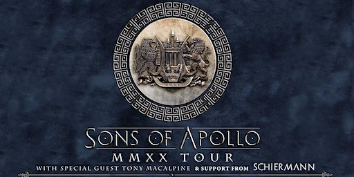 Sons of Apollo with Tony MacAlpine and SCHIERMANN