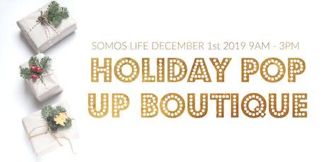 Holiday Exclusive Designer Pop Up - Art pieces, Designer Clothes,  Handmade Goods tickets