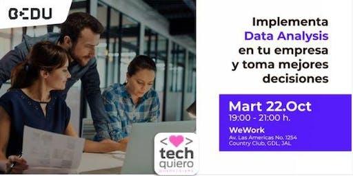 Análisis de Datos aplicado a tu negocio