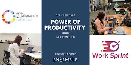 GEW Power  of Productivity Work Sprint tickets