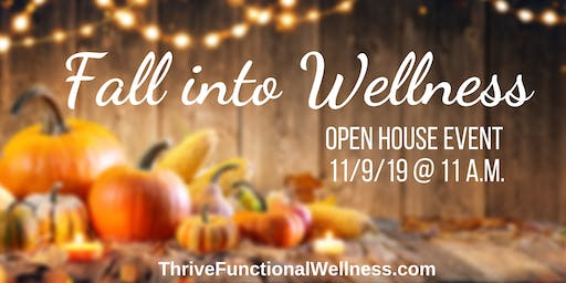 Fall into Wellness Open House Event