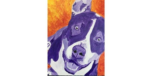 PAINT YOUR PET -  Friday, Nov. 8th, 7:00pm, $35