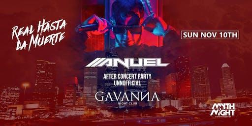 Anuel After Concert Party @GAVANNA