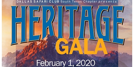 DSC South Texas 2020 Gala - Heritage tickets