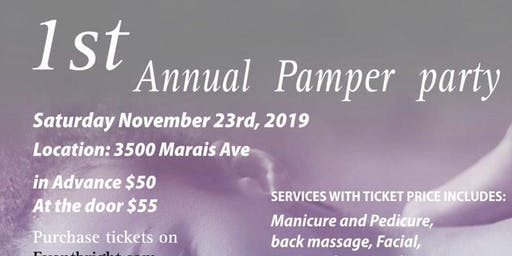 1st Annual Pamper Party