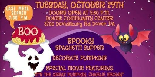 Spooky Spaghetti Dinner