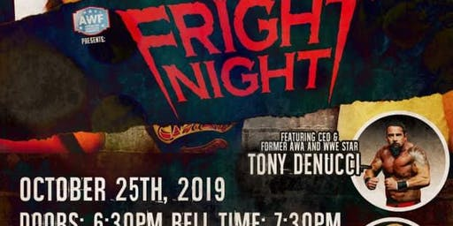 AWF - FRIDAY NIGHT 'FRIGHT NIGHT' AT NEISEN'S SPORTS BAR  & GRILL