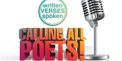 writtenVERSESspoken Open Mic Poetry Session