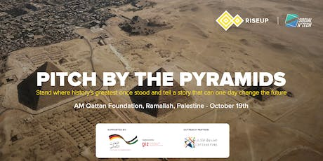 Pitch By The Pyramids - Ramallah Qualifier tickets