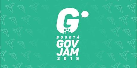 Bogotá GovJam 2019 entradas
