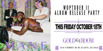 Gucci Mane FRIDAY Night Hip Hop Gold Room