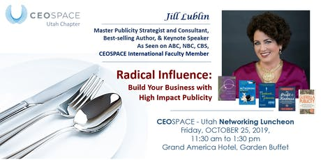 CEOSPACE International - Utah October 2019 Luncheon tickets