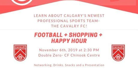 Football + Shopping + Happy Hour tickets