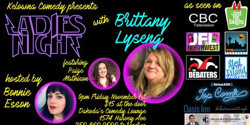Ladies Night with Brittany Lyseng