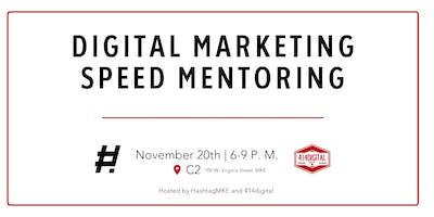 Digital Marketing Speed Mentoring