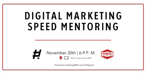 Digital Marketing Speed Mentoring